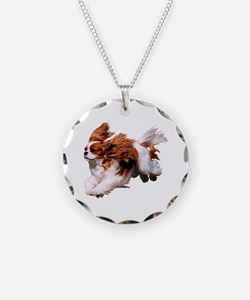 Cavalier Running- Blenheim Necklace