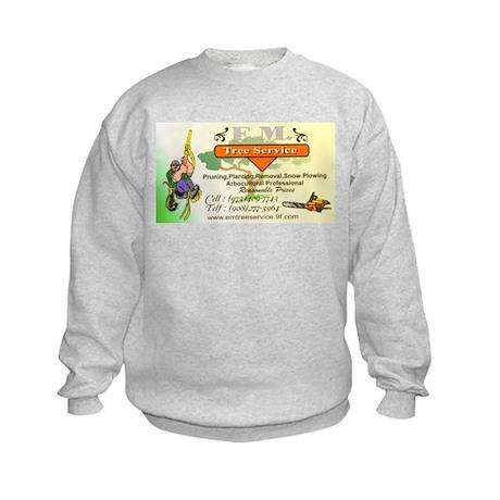 EM Tree Service Kids Sweatshirt