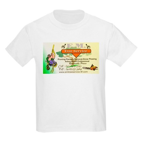 EM Tree Service Kids Light T-Shirt