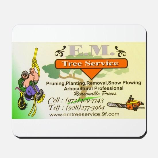EM Tree Service Mousepad