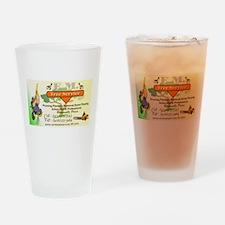 EM Tree Service Drinking Glass