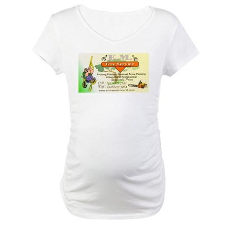 EM Tree Service Maternity T-Shirt