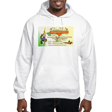 EM Tree Service Hooded Sweatshirt