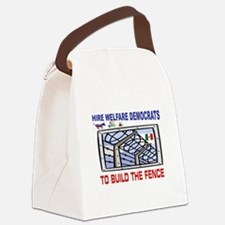 BORDER FENCE Canvas Lunch Bag