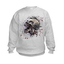 Zombie head Sweatshirt