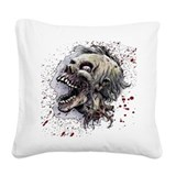 Zombie Square Canvas Pillows