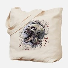 Zombie head Tote Bag