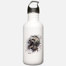 Zombie head Water Bottle