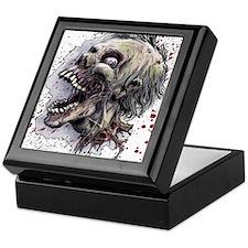 Zombie head Keepsake Box