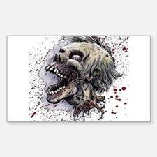Zombie head Decal