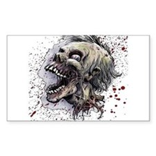 Zombie head Stickers