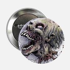 """Zombie head 2.25"""" Button"""