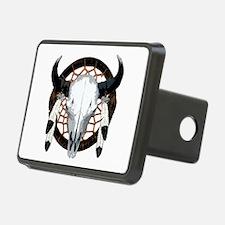 Buffalo skull dream catcher Hitch Cover