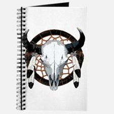 Buffalo skull dream catcher Journal