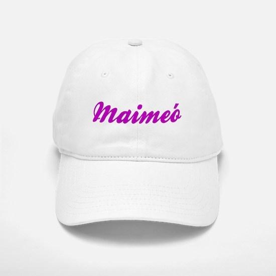 Maimeo Baseball Baseball Cap (White or Khaki)