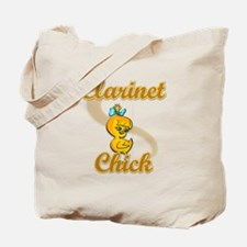 Clarinet Chick #2 Tote Bag