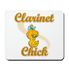Clarinet Chick #2 Mousepad