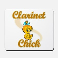 Clarinet Chick #2 Mousepad