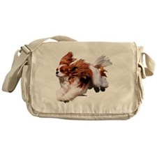 Cavalier Running- Blenheim Messenger Bag