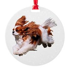 Cavalier Running- Blenheim Ornament