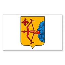 Kirov Coat of Arms Rectangle Decal