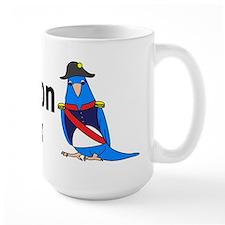 Blue Napoleon Complex Ceramic Mugs