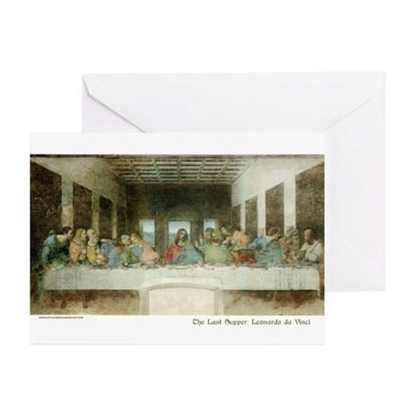 LastSupperCARD Greeting Cards