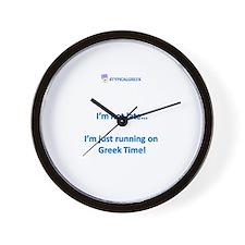 greek time.png Wall Clock