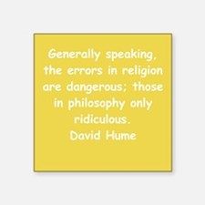 """hume7.png Square Sticker 3"""" x 3"""""""