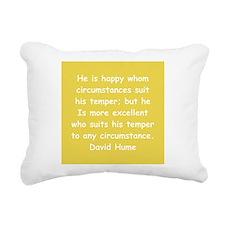 hume8.png Rectangular Canvas Pillow