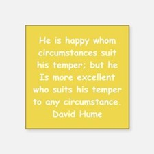 "hume8.png Square Sticker 3"" x 3"""