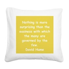 hume11.png Square Canvas Pillow