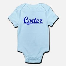 Cortez, Blue, Aged Infant Bodysuit