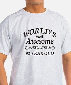 Most Awesome 90 Year Old T-Shirt