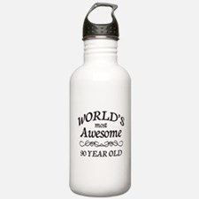 Awesome 90 Year Old Water Bottle