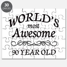 Awesome 90 Year Old Puzzle