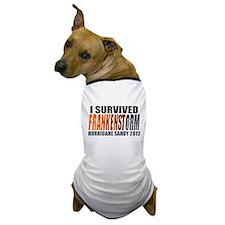 Frankenstorm Hurricane Sandy 2012 Dog T-Shirt