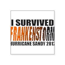 Frankenstorm Hurricane Sandy 2012 Square Sticker 3