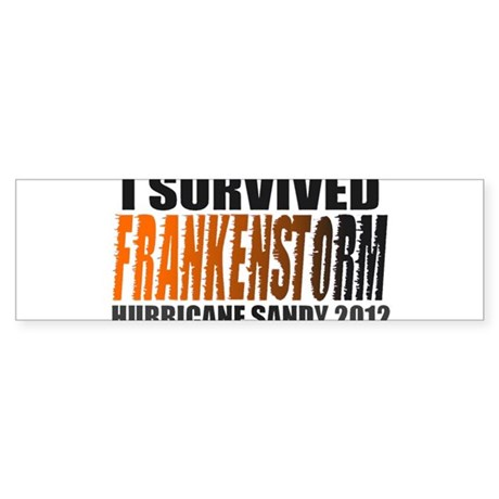 Frankenstorm Hurricane Sandy 2012 Sticker (Bumper)