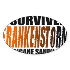 Frankenstorm Hurricane Sandy 2012 Decal