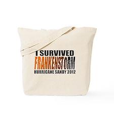 Frankenstorm Hurricane Sandy 2012 Tote Bag