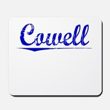 Cowell, Blue, Aged Mousepad