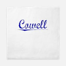 Cowell, Blue, Aged Queen Duvet