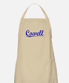 Cowell, Blue, Aged Apron