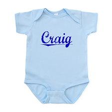 Craig, Blue, Aged Onesie