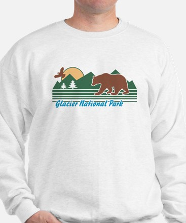 Glacier National Park Sweatshirt