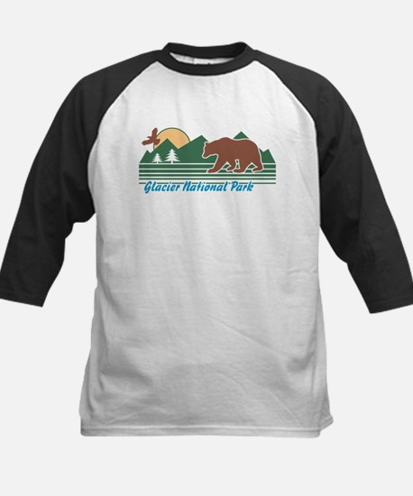 Glacier National Park Kids Baseball Jersey