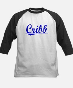 Cribb, Blue, Aged Tee
