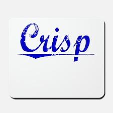 Crisp, Blue, Aged Mousepad