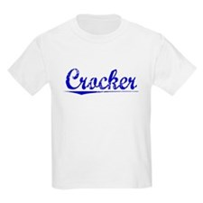 Crocker, Blue, Aged T-Shirt
